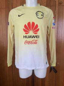 low priced d6014 2a28b Jersey Club América Local Manga Larga Centenario 2016 Nike