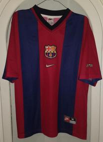 100% authentic b5767 24447 Jersey Club Barcelona Año 1998 Talla Mediana Nike