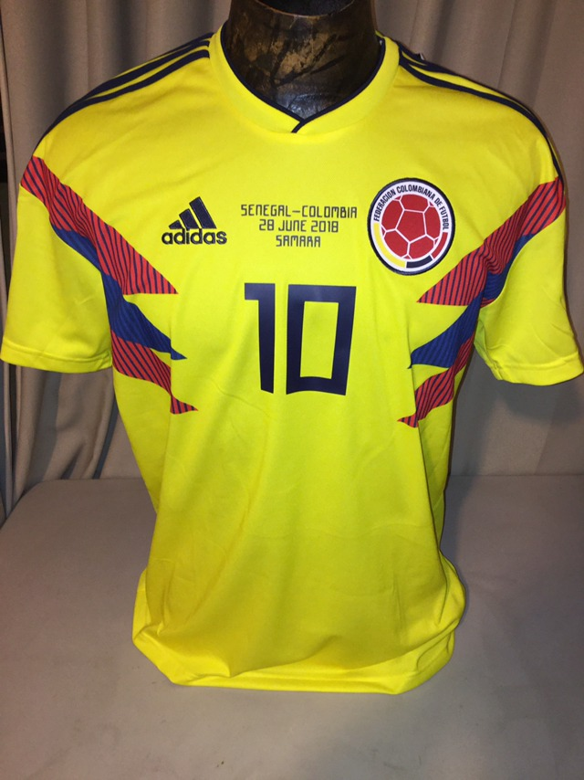 best sneakers 3ff78 cd4d4 Jersey Colombia 2018 James adidas Falcao Mundial Rusia