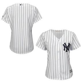 ca179e2844ea Jersey Con Base En Frío New York Yankees Mlb Para Mujer
