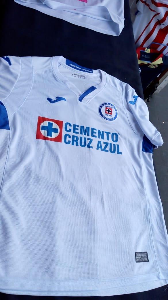 d4752cf15 Playera Jersey De Cruz Azul 2019 (hecho En México) -   390.00 en ...