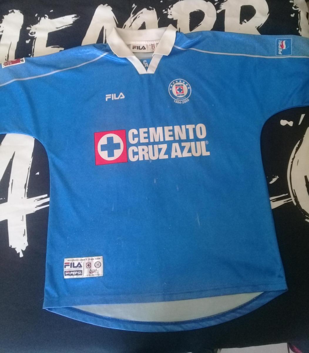 f096f1819 Jersey Cruz Azul Fila Año 2000 -   750.00 en Mercado Libre