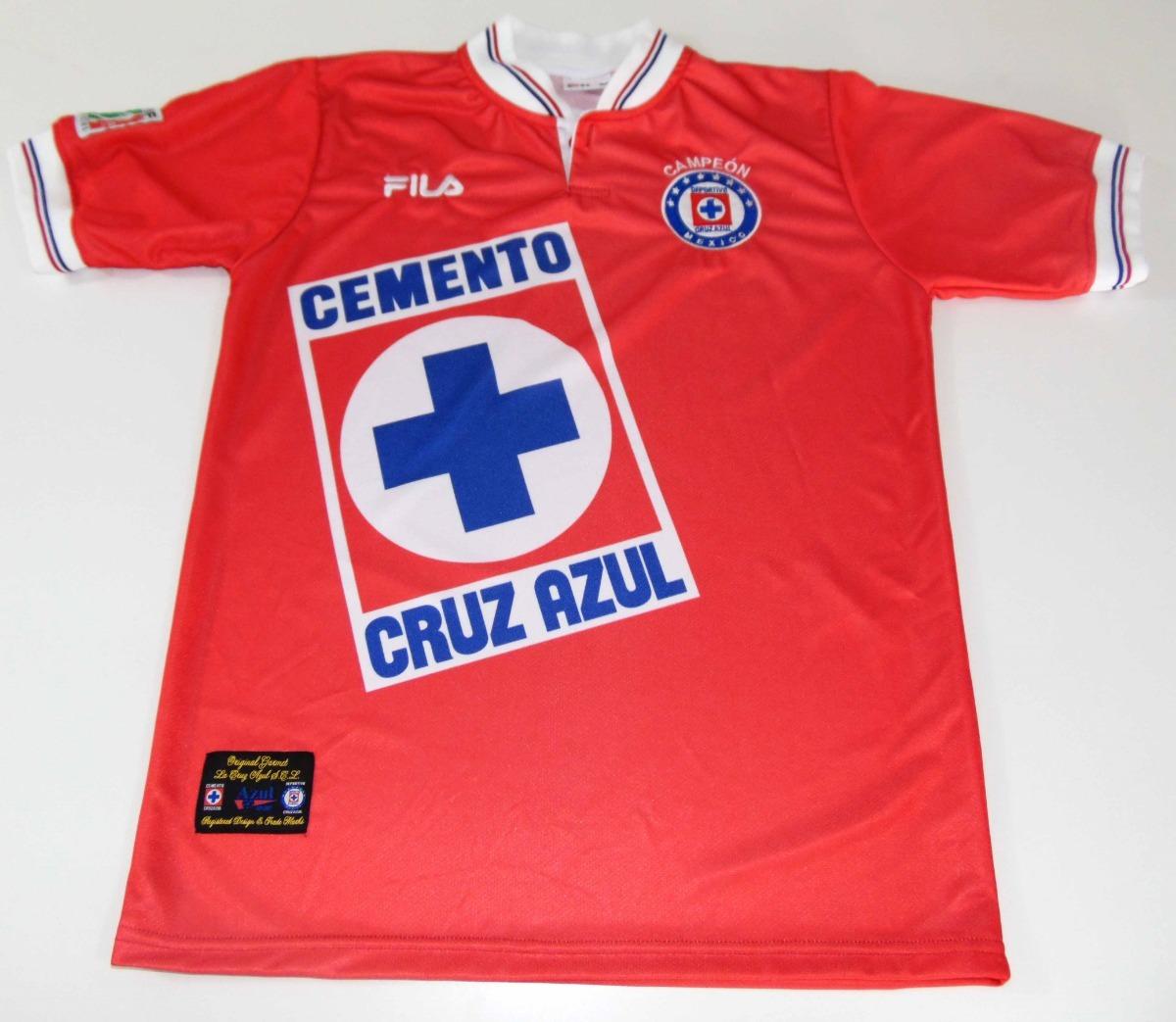 6e088436f jersey cruz azul invierno 97 campeon conmemorativa reedicion. Cargando zoom.
