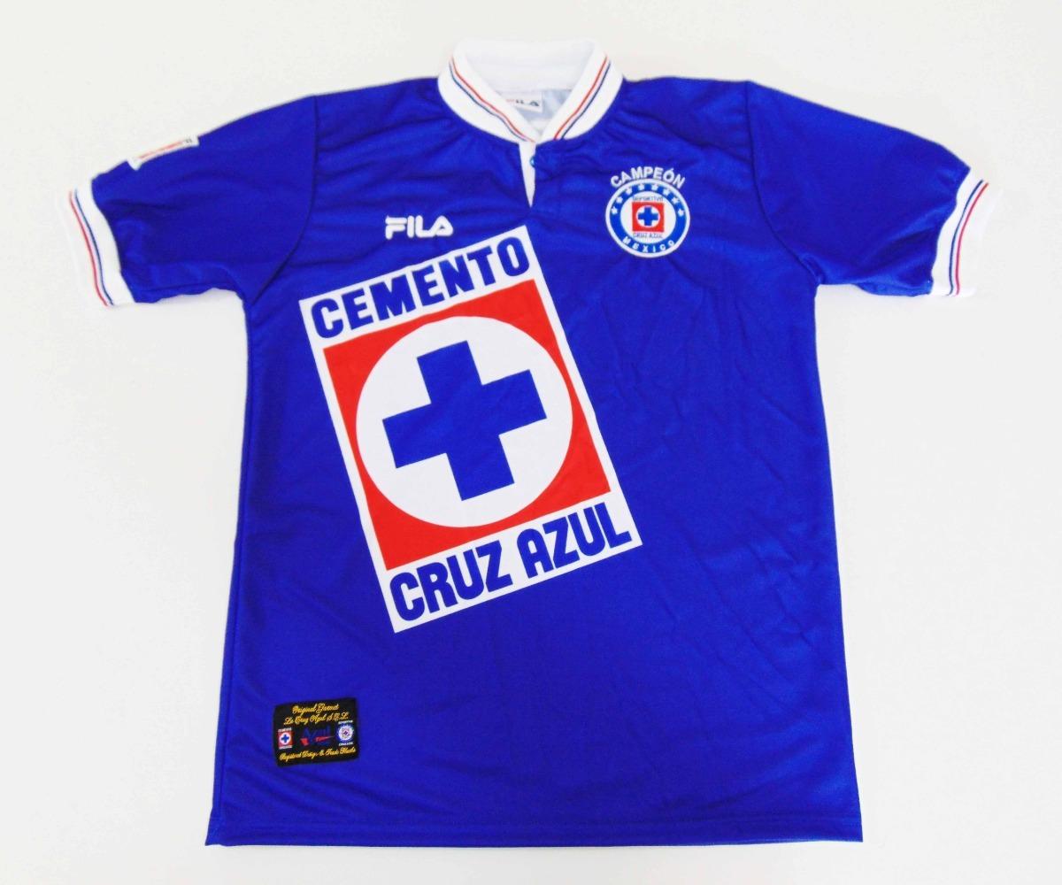 395c3d822 Jersey Cruz Azul Invierno 97 Campeon Manga Corta Local -   750.00 en ...