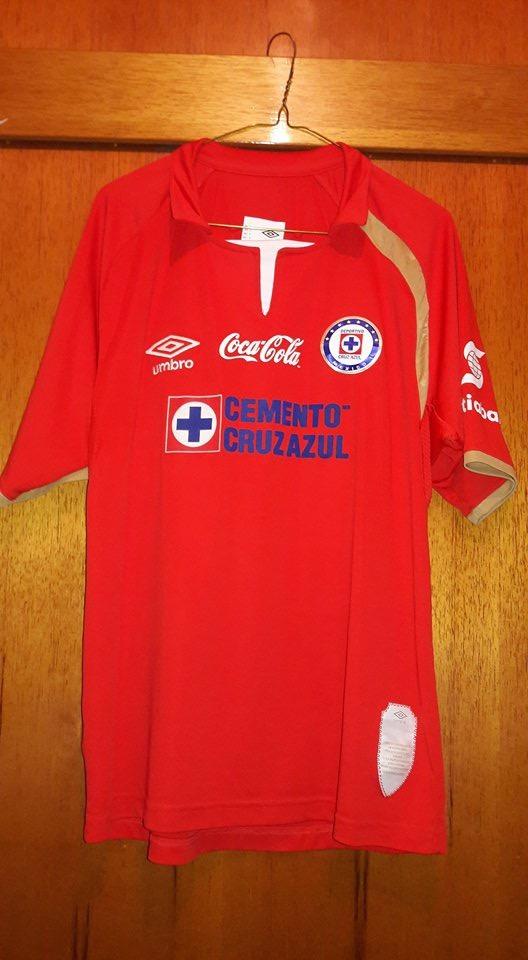 5c7f772a935 Jersey Cruz Azul Umbro 50 Aniversario Original Roja -   550.00 en ...