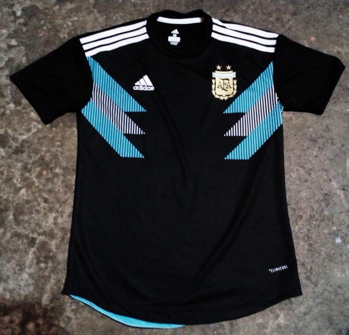 d3c694141d Jersey De Argentina Visitante Negra (hecho En México) -   390.00 en ...