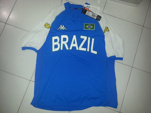 jersey de  brasil kappa nuevo talla grande vendo o cambio