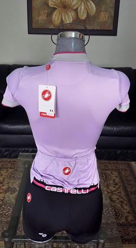 jersey de ciclismo chica castelli