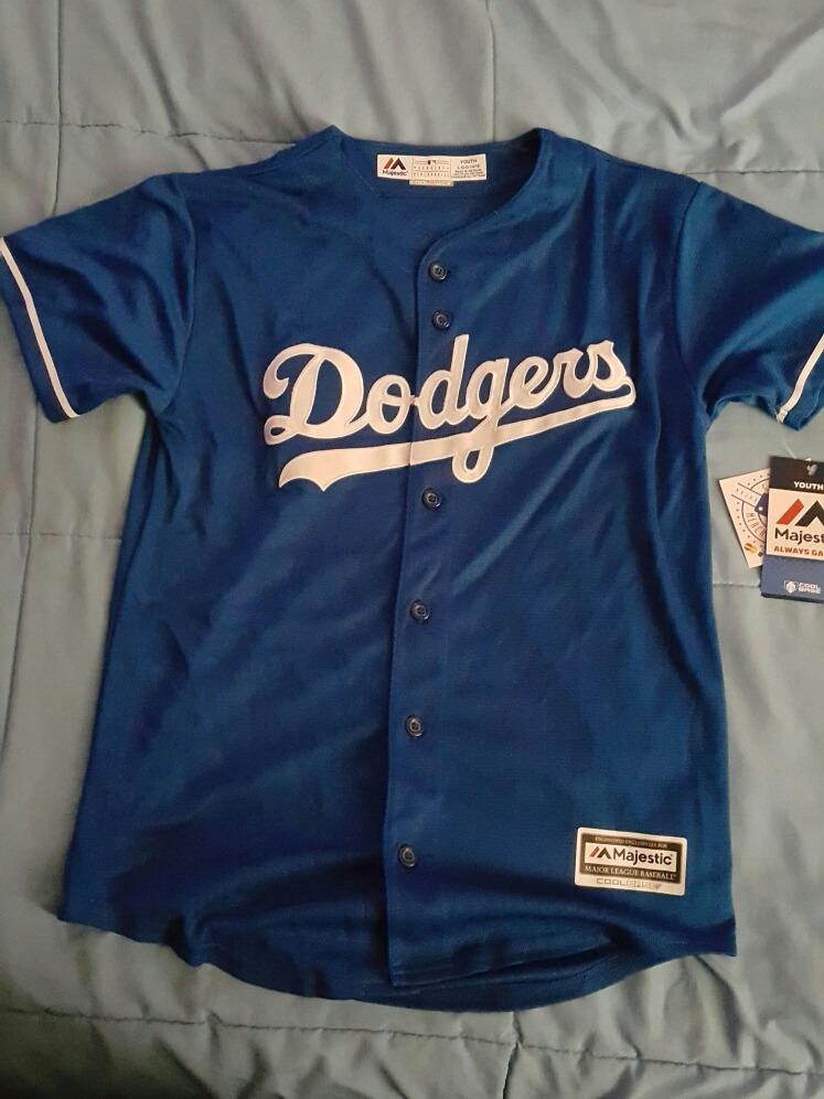 Jersey De Dodgers Azul a0c675584eb