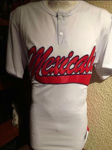 jersey, de dos botones y chamarras de equipos de besibol