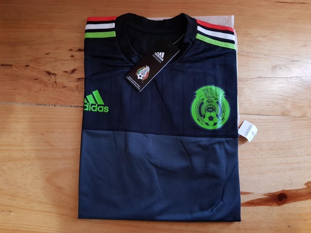 jersey de entrenamiento selección mexicana adizero talla m. Cargando zoom. 07f58ee9849fe
