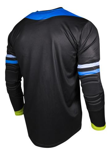 jersey de portero rinat kancerbero alpha negro/ azul