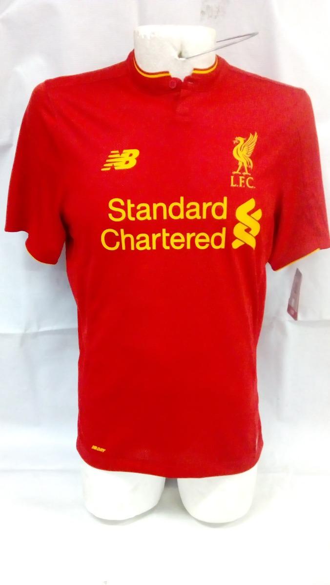 1898941193e Jersey De Soccer New Balance Liverpool Football Club -   950.00 en ...