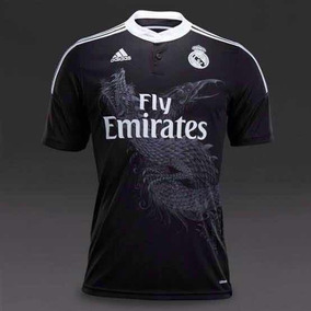 b8dfc36f2 Jersey Real Madrid Negra Con Dragon - Jerseys de Fútbol en Mercado Libre  México