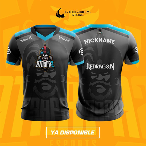 jersey deportivo e-sports atrapa2 gaming