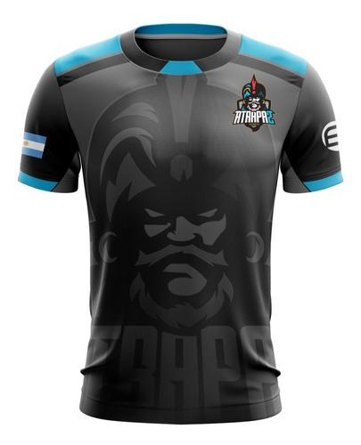 jersey deportivo e-sports atrapa2 gaming oficial