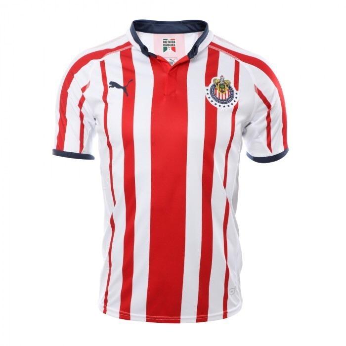 93fe1fd9a Jersey Deportivo Puma Chivas Home Shirt Replica 18-19 8810 ...