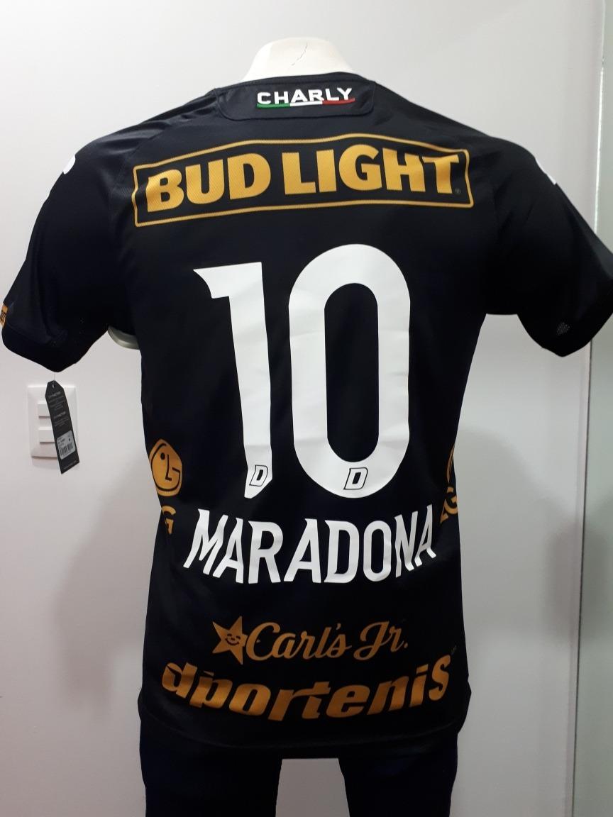 jersey dorados de sinaloa maradona visita charly ap 2018. Cargando zoom. f0340fcf3e38