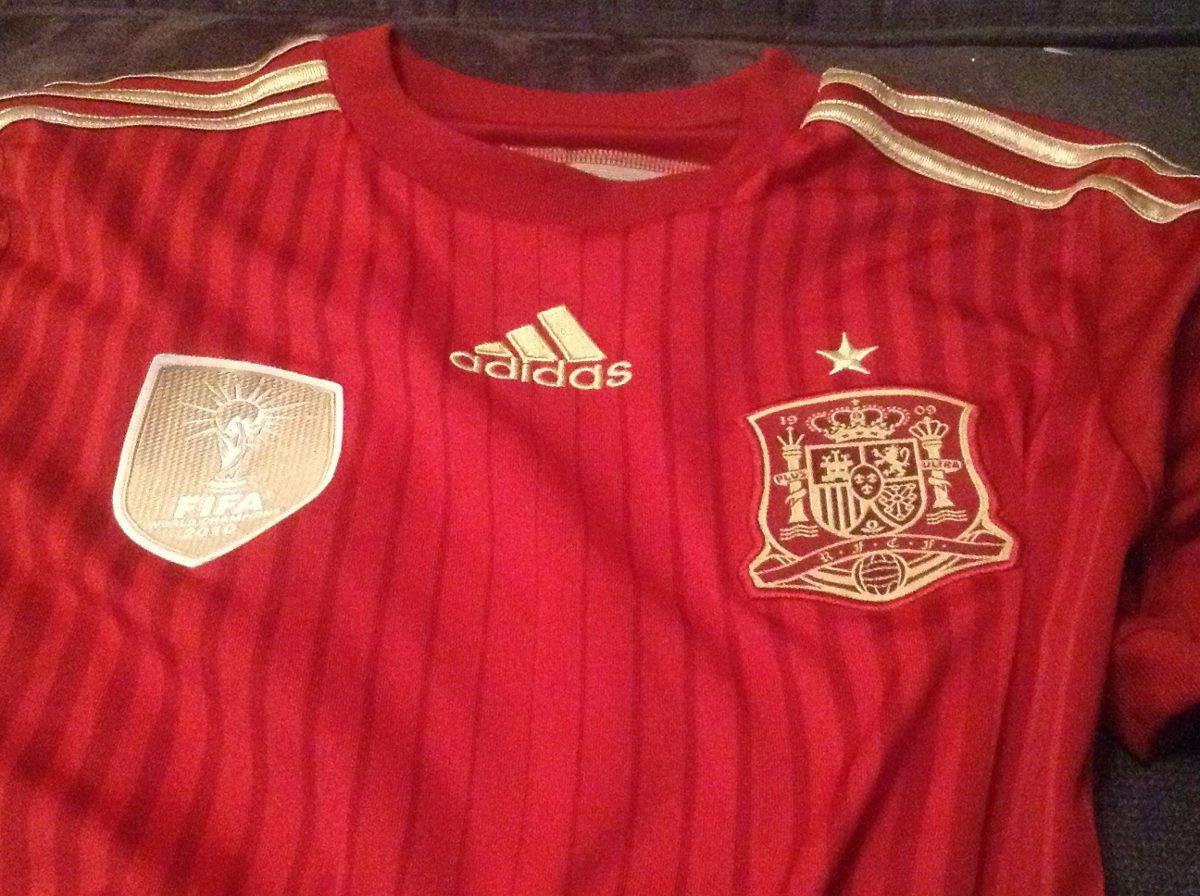 jersey españa local mundial brasil 2014 adidas. !!remate!! Cargando zoom. b39e5d4059f5e