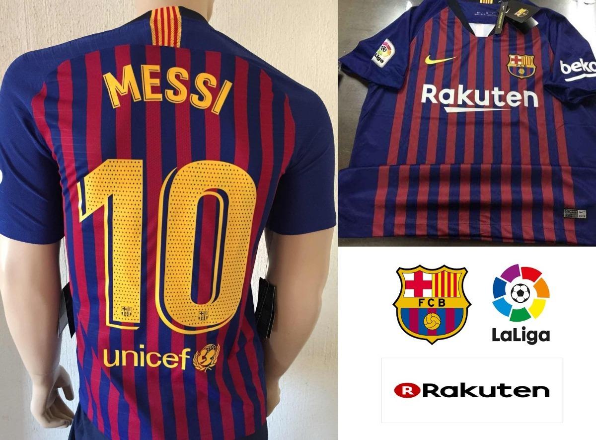 buy online b4e1d eed78 Jersey Fc Barcelona Messi #10 Local Azulgrana Lfp 2019