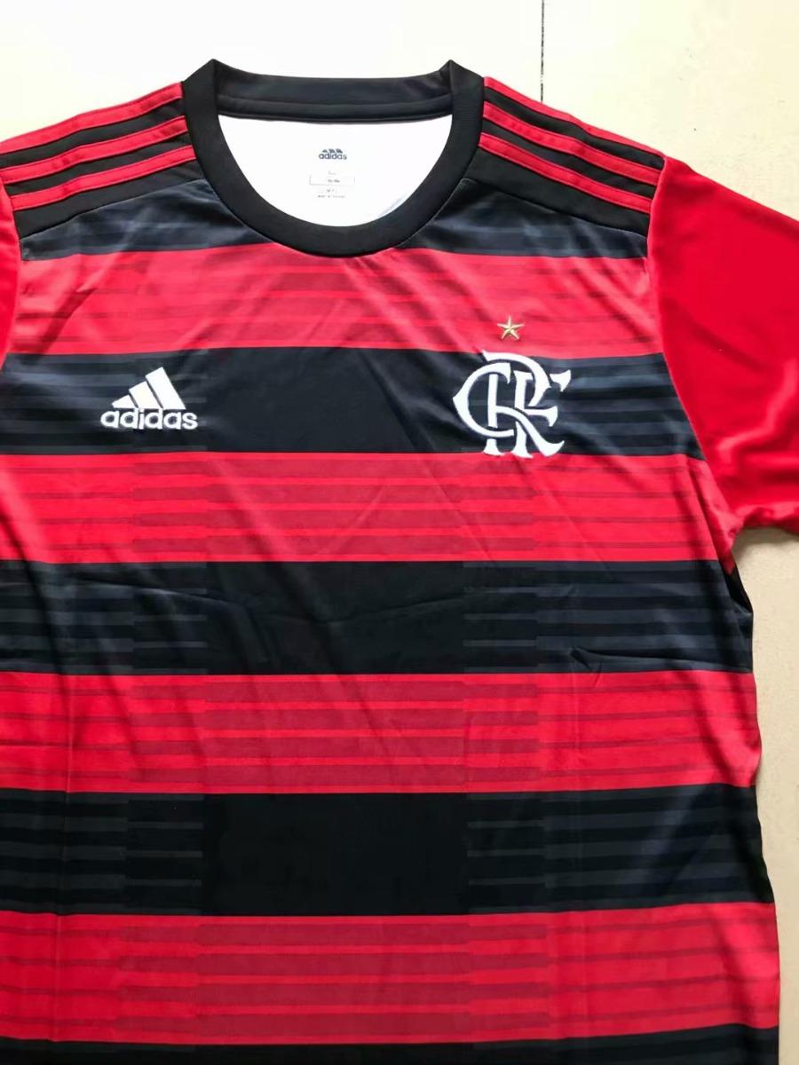 fa502de9def Jersey Fc Flamengo De Brasil Local 2019 Rojo Y Negro -   905.00 en ...