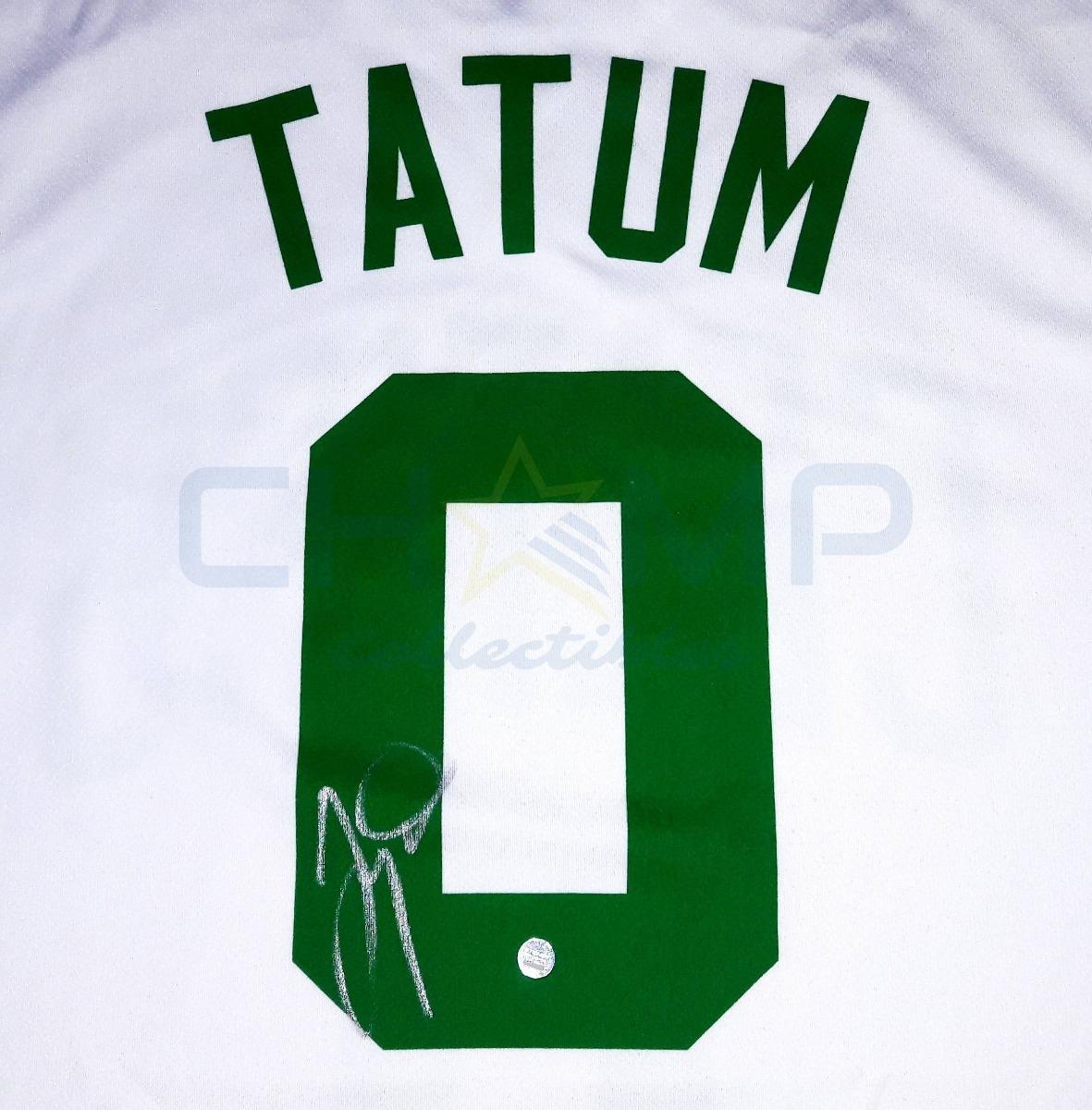 premium selection c5e50 9d3cd Jersey Firmado Jayson Tatum Boston Celtics adidas Autografo