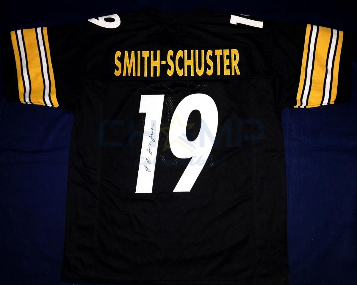 the best attitude 48317 3283f Jersey Firmado Juju Smith-schuster Steelers Nfl Autografo