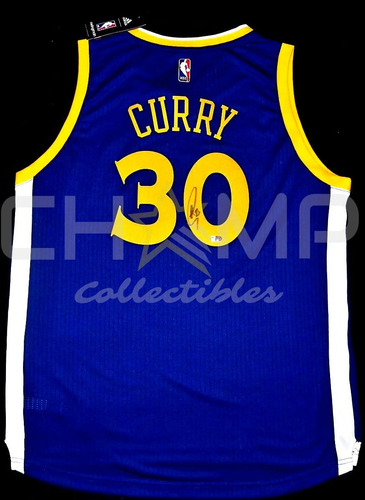 jersey firmado stephen curry golden state warriors autografo