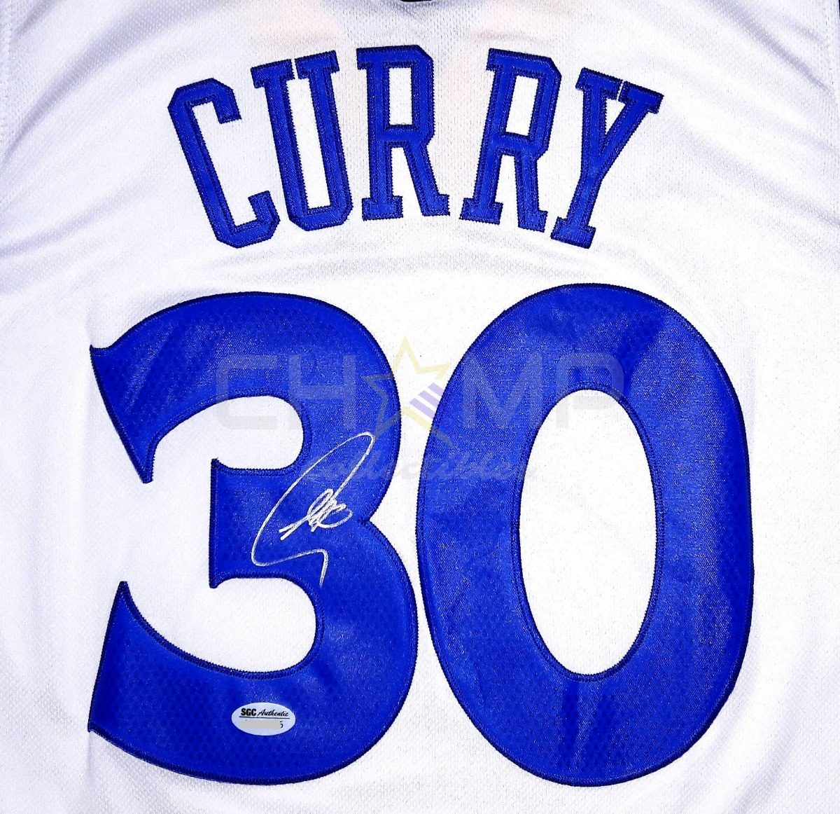 reputable site d6651 56db5 Jersey Firmado Stephen Curry Golden State Warriors Home