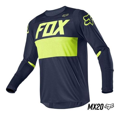 jersey fox 360 bann navy