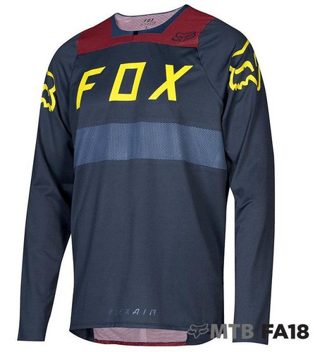 jersey fox flexair azul