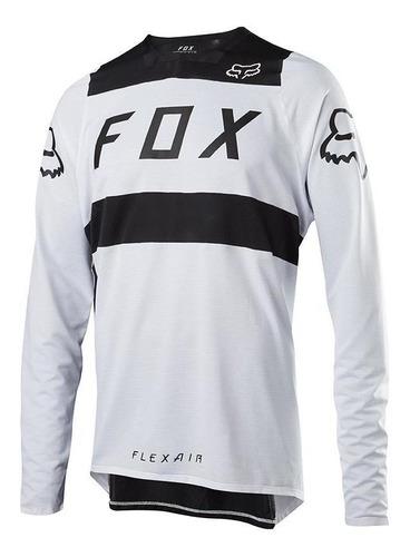 jersey fox flexair blanco/negro