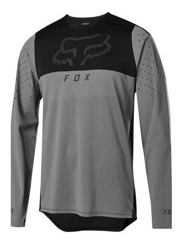 jersey fox .flexair. delta gris/estaño mtb bmx trail downhil