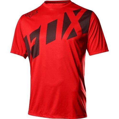 jersey fox modelo ranger color rojo para bici mtb