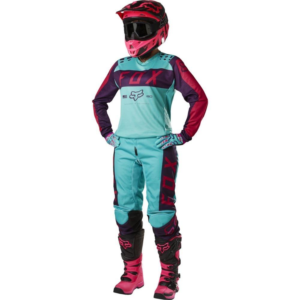Jersey Fox Mujer 2017 180 Morado Con Rosa 515366e77930