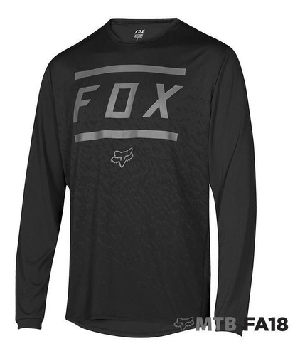 jersey fox ranger ls negro