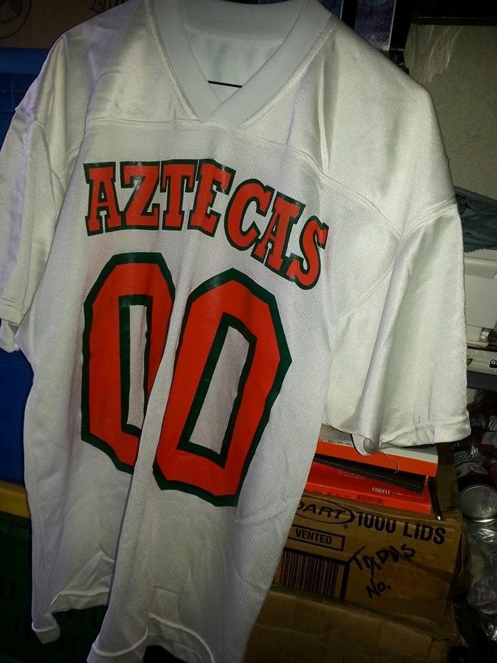Jersey Playera Futbol Americano Aztecas De La Udla Borregos ... ffee762556e