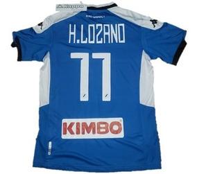 new product cd76b 92dce Jersey Futbol Napoli Kappa Nuevo Hirving Lozano Chucky