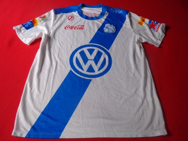 53ba8f77fa033 Jersey Futbol Puebla Liga Mx Futbol Soccer 27 Franja Sport ...