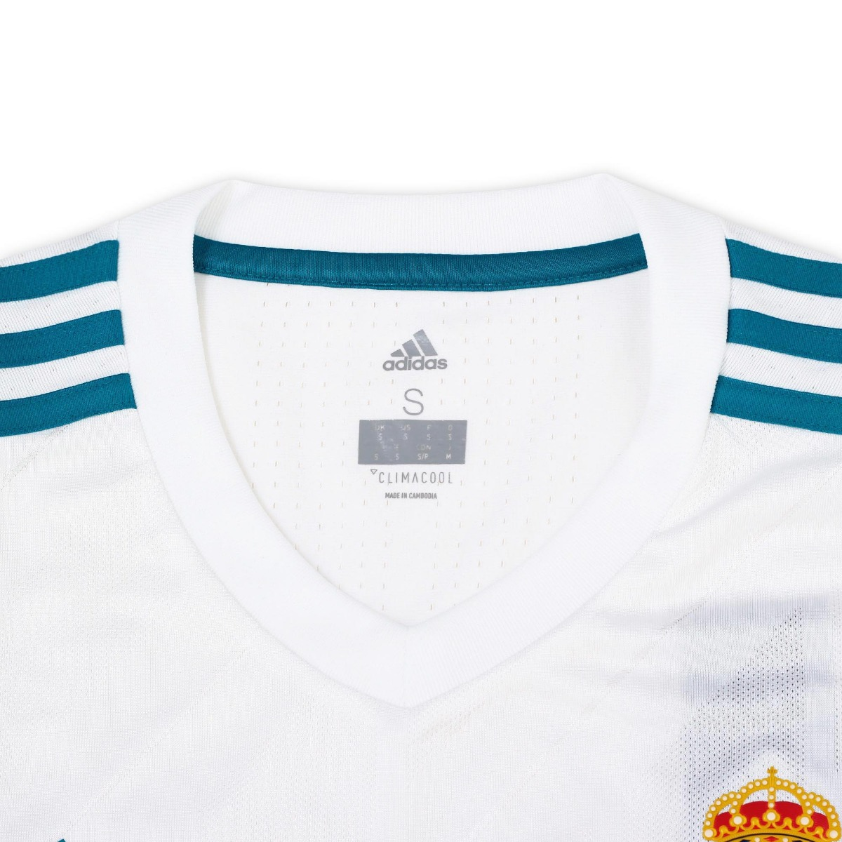 Jersey adidas Futbol Real Madrid Local Fan 17 18 Niño -   1 95d0883684a9b