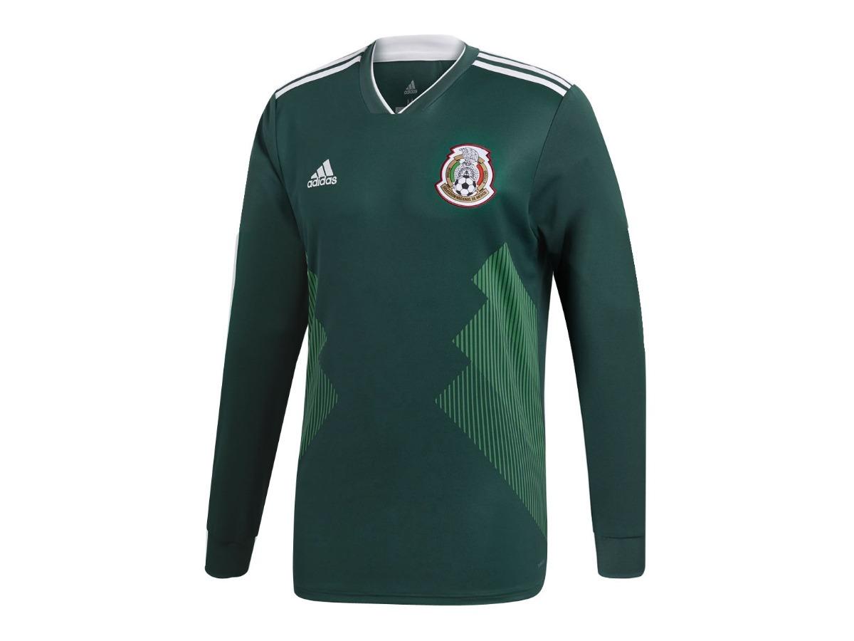 2bda0c158a1ce Jersey adidas Futbol Selección Mexicana Local Fan 17 18 Ml ...