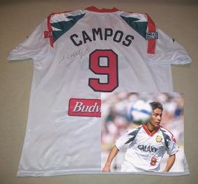 4a3be6691 Jersey Galaxy Retro Firmado Jorge Campos Certificada Mexico