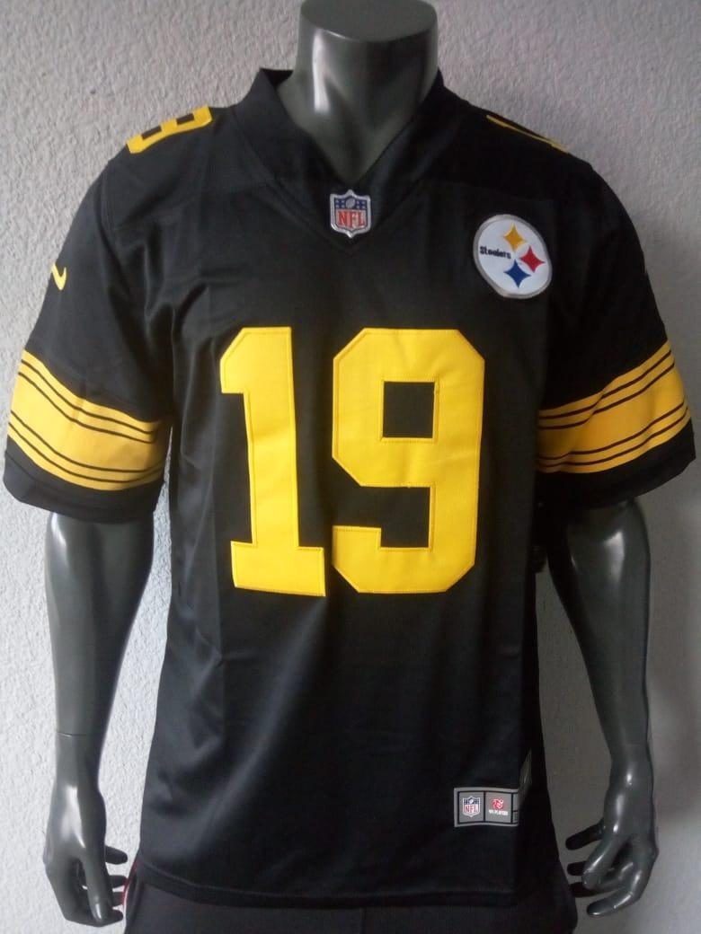 best sneakers 7e7b7 68868 Jersey Grande Pittsburgh Steelers Juju Smith-schuster Rush