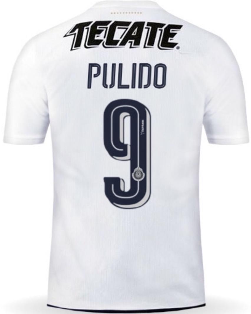 info for c4e8c c094f Jersey Guadalajara 2017 Blanco Chivas Alan Pulido Env Gratis