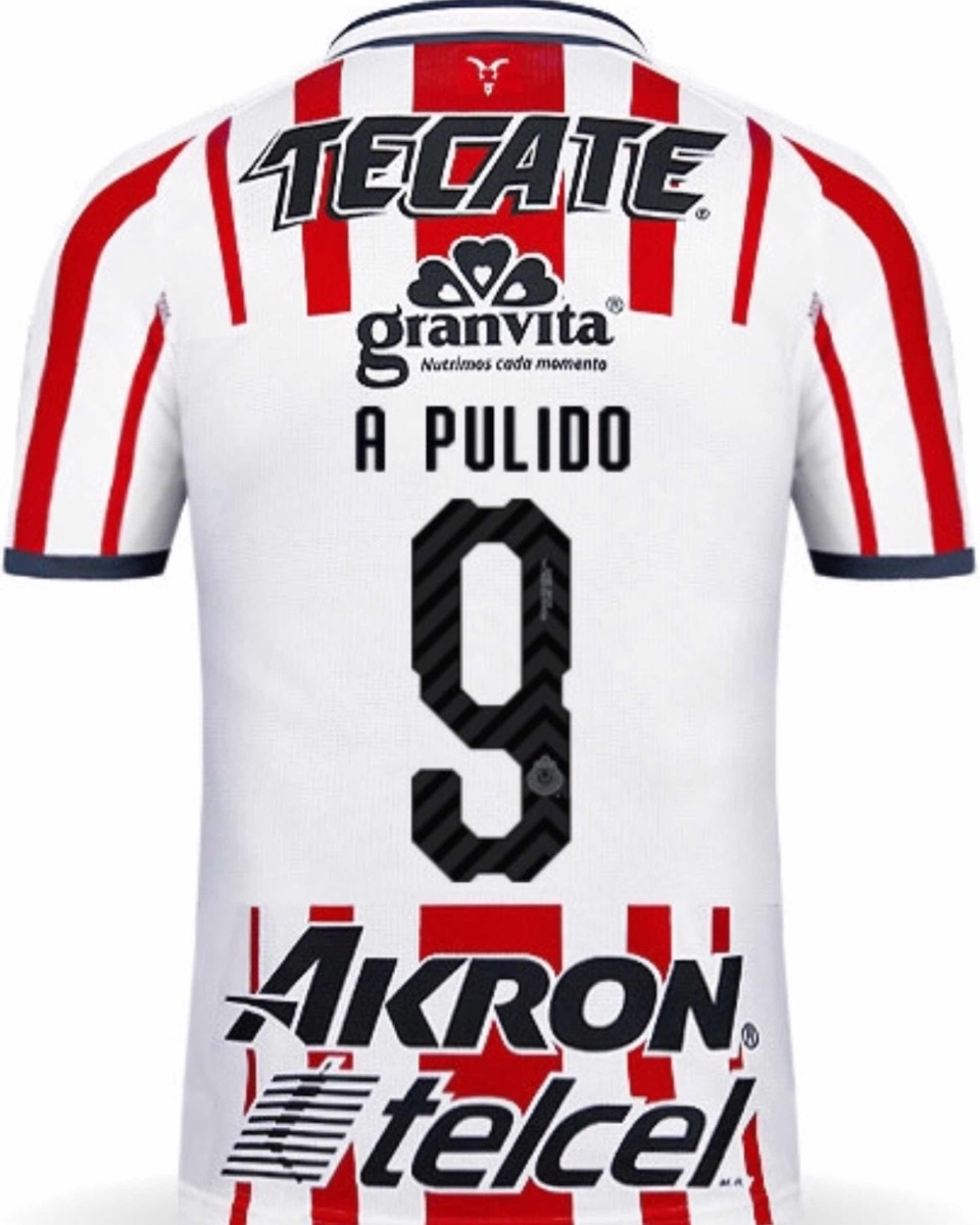 timeless design a16ea a6f76 Jersey Guadalajara 2019 Chivas Local Alan Pulido Envío Grati