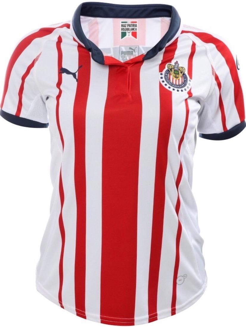5cb43e14c25 Jersey Guadalajara Mujer 2019 Chivas Local Dama - $ 548.00 en ...