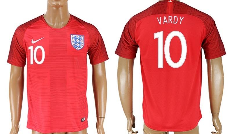 Jersey Inglaterra Mundial 2018 Visita Roja Vardy Kane - $ 1,000.00 en Mercado Libre