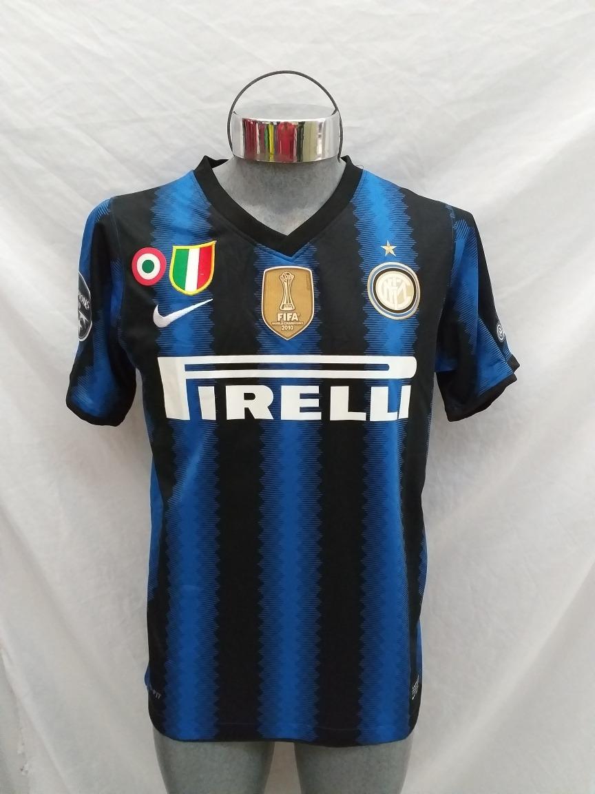 detailed look 8232d 55a5f Jersey Inter De Milán 2010