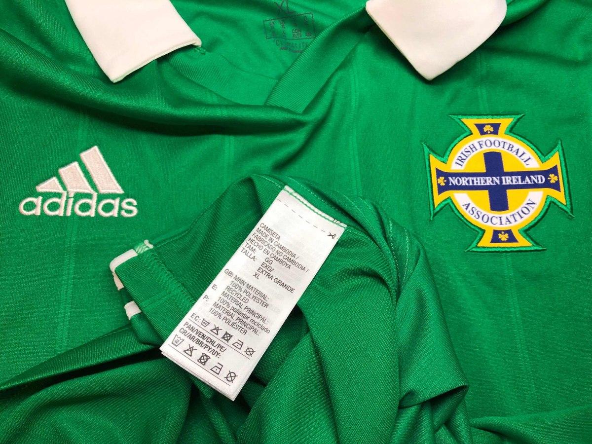 b5218ca53 Jersey Irlanda Del Norte 2018 Local adidas Extra Grande -   899.00 ...
