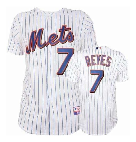 buy popular 13ce2 e8e67 Jersey Jose Reyes #7 Mets De Nueva York 100 % Original